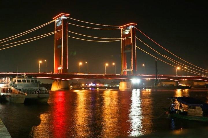 Wisata Akhir Pekan Palembang Kita Kota Cuka Explore Jembatan Ampera