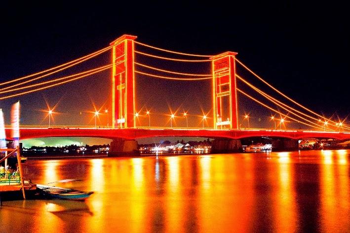 Wisata Palembang Info Kita Taman Pelangi Sriwijaya Kota