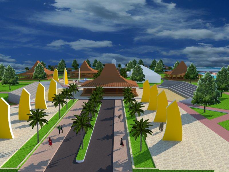 Arsitektur Kukuhard Page 2 Revitalisasi Kawasan Taman Purbakala Kerajaan Sriwijaya