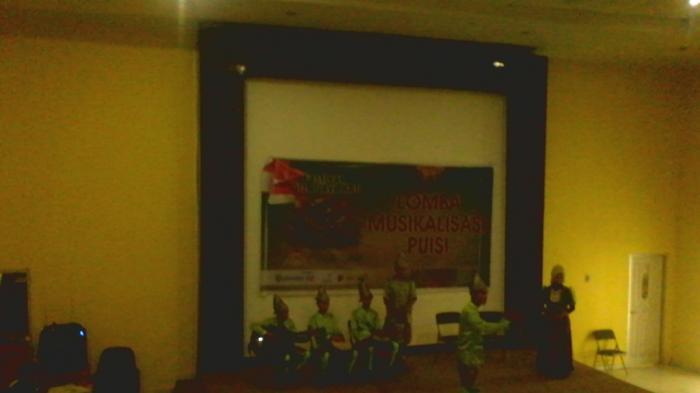 Hut Palembang Musikalisasi Puisi Kembali Digelar Tribun Sumsel Tribunsumsel Muhammad