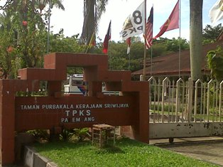 Jelang Festival Sriwijaya Jalan Rusak Parah Rmolsumsel Taman Purbakala Kerajaan