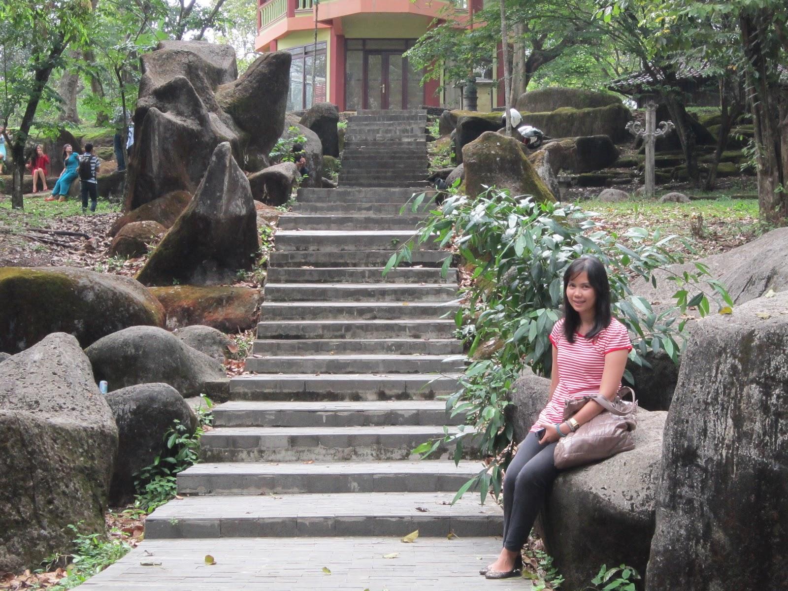 Lil Greeny Palembang 2012 Setelah Taman Purbakala Bukit Siguntang Tujuan