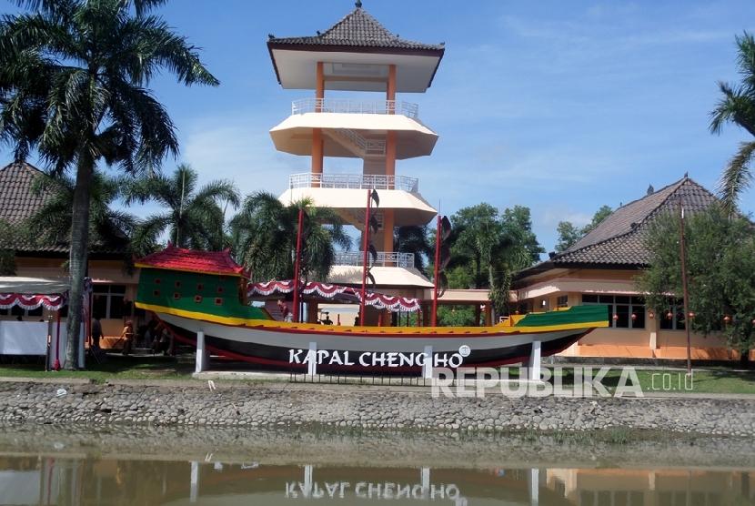 Organisasi Pariwisata Dunia Kaji Warisan Kerajaan Sriwijaya Replika Kapal Laksamana