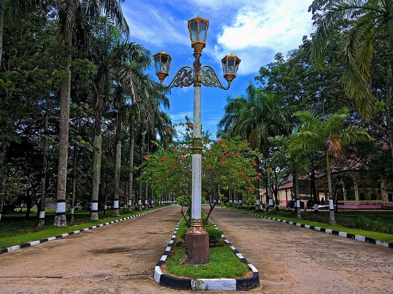 Palembang Indonesia Green Metropolitan Legendary City 11 Taman Purbakala Kerajaan