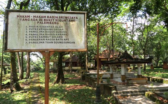 Program Menguatkan Keberadaan Sriwijaya Palembang Taman Purbakala Kerajaan Kota