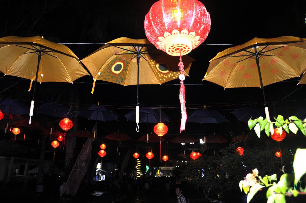 Semarak Malam Pembukaan Festival Sriwijaya 2015 23 Taman Purbakala Kerajaan