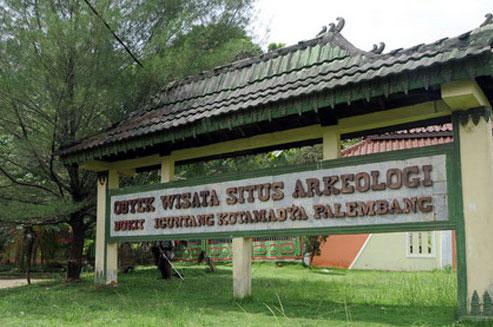 Taman Bukit Siguntang Sepenggal Sejarah Kerajaan Sriwijaya Sekilas Purbakala Kota