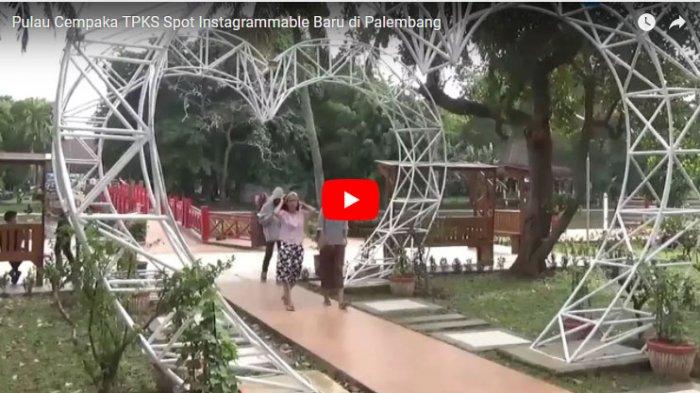 Taman Purbakala Kerajaan Siriwijaya Obyek Foto Terbaru Palembang Tribunnews Sriwijaya