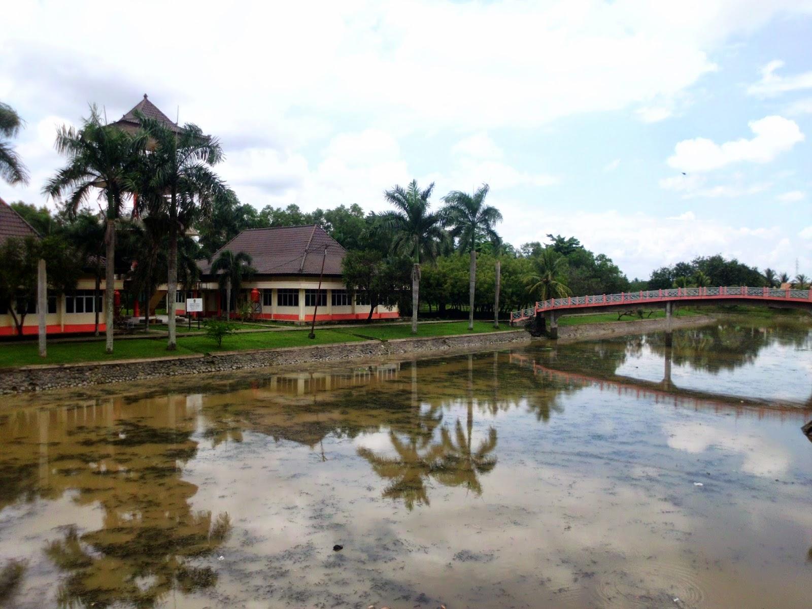 Taman Purbakala Kerajaan Sriwijaya Izi Melihat Bentukan Tpks Terdapat Museum