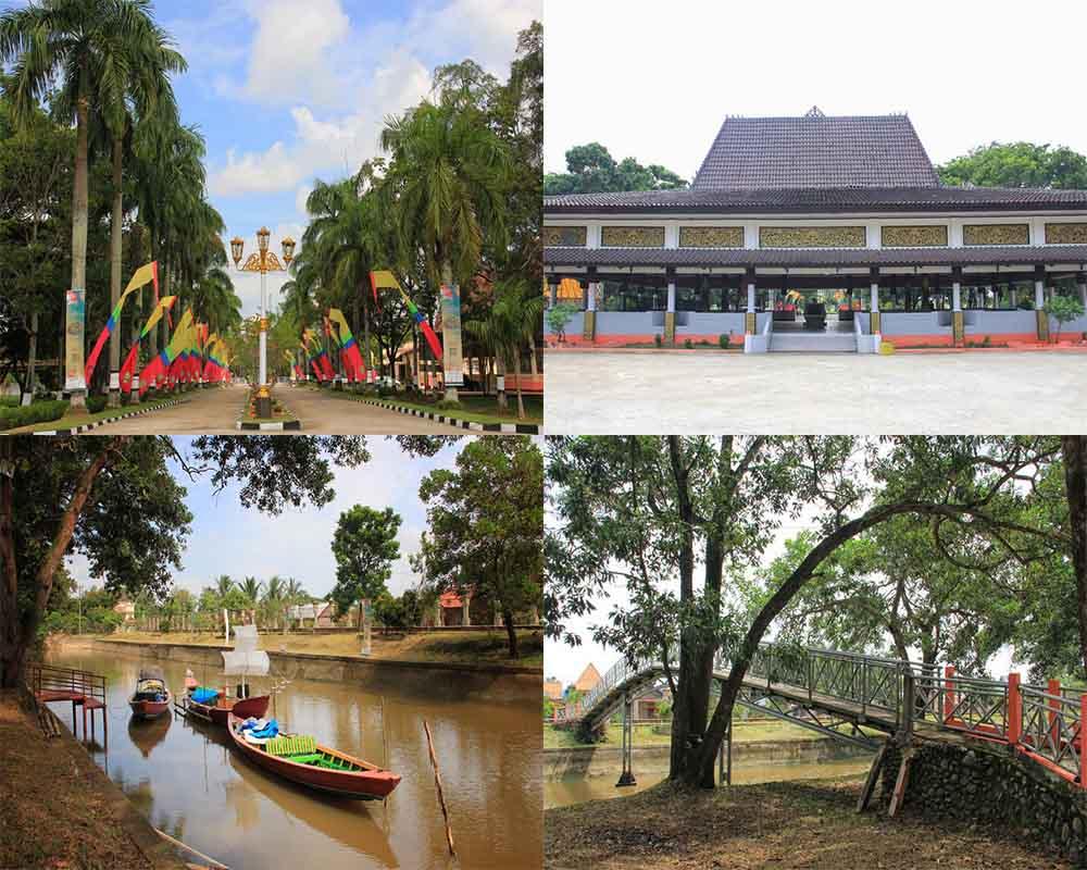 Taman Purbakala Kerajaan Sriwijaya Tpks Palembang Kamera Budaya Suasana Sekitar