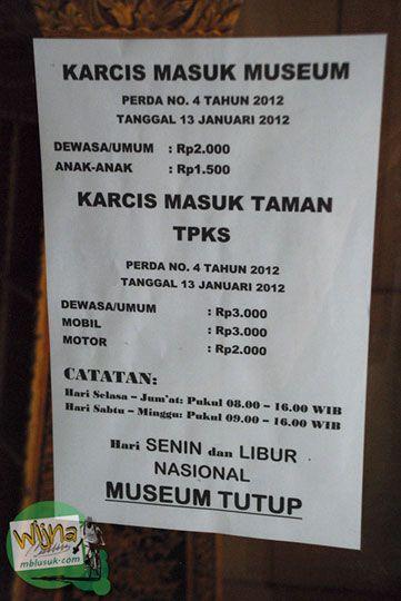 Taman Purbakala Kerajaan Sriwijaya Wisata Sejarah Palembang Tiket Masuk Kota