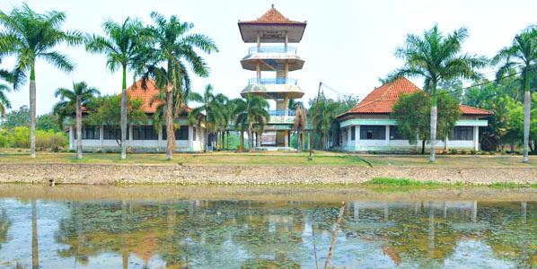 Taman Wisata Budaya Kerajaan Sriwijaya Palembang Djaya Sejak Diresmikan Soeharto