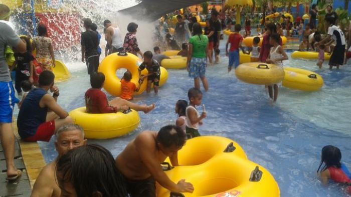5000 Pengunjungi Ramaikan Water Fun Opi Jakabaring Sriwijaya Post Waterboom