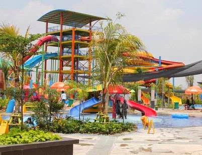 8 Jpg Waterboom Opi Jakabaring Kota Palembang
