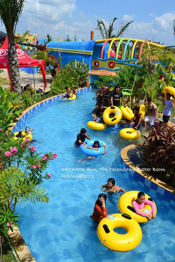 Basah Basahan Opi Water Fun Jakabaring Palembang Bergembira Waterboom Kota