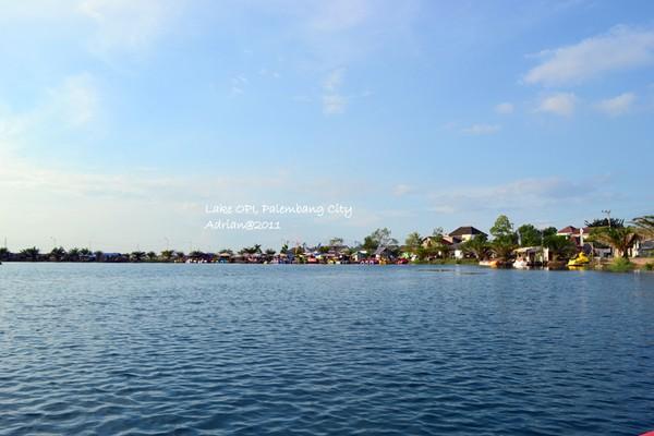 Basah Basahan Opi Water Fun Jakabaring Palembang Danau Waterboom Kota