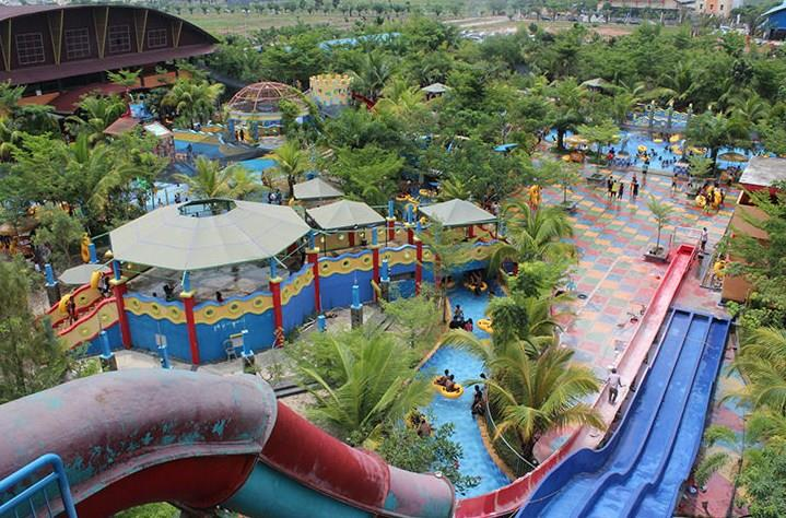Daftar Harga Tiket Masuk Opi Water Fun Palembang Terbaru Maret