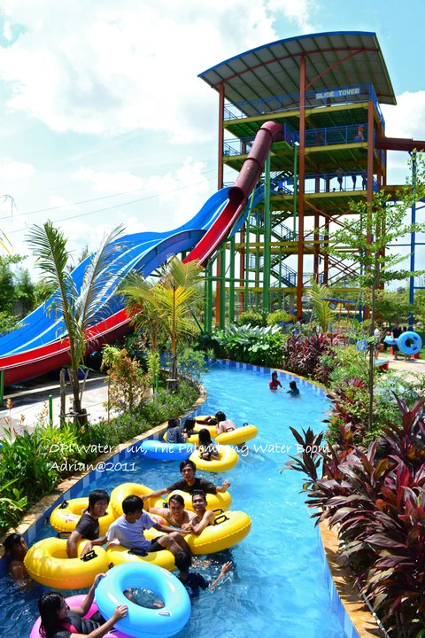 Harga Tiket Opi Water Fun Palembang Pariwisata Cukup Terjangkau Rp