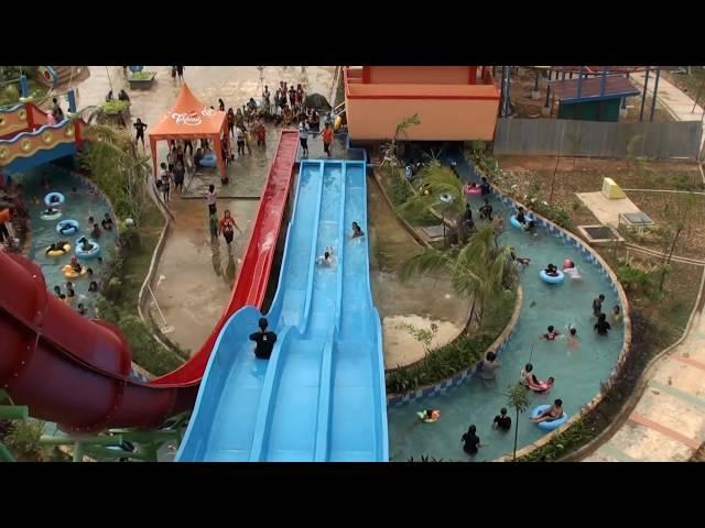 Nyoting Prosotan Opi Water Fun Palembang Sujianto Waterboom Jakabaring Kota