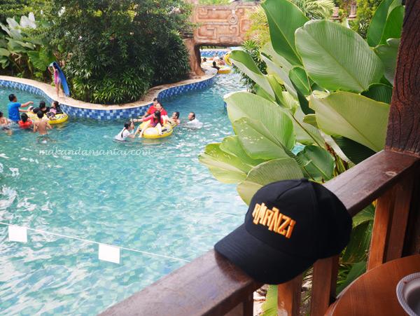 Tempat Anak Berenang Palembang Amanzi Waterpark Waterboom Opi Jakabaring Kota