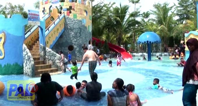 Wow Berenang Opi Water Fun Bisa Rumah Paltv Waterboom Jakabaring