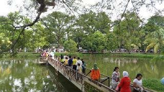 Kambang Iwak Ki Family Park Palembang Zone History Taman Menjadi