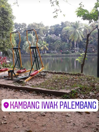 Kambang Iwak Palembang 2018 Wisata Keluarga Kembang Family Park Kota