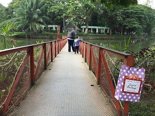 Kambang Iwak Palembang Kif Park Ramai Hari Minggu Pagi Area