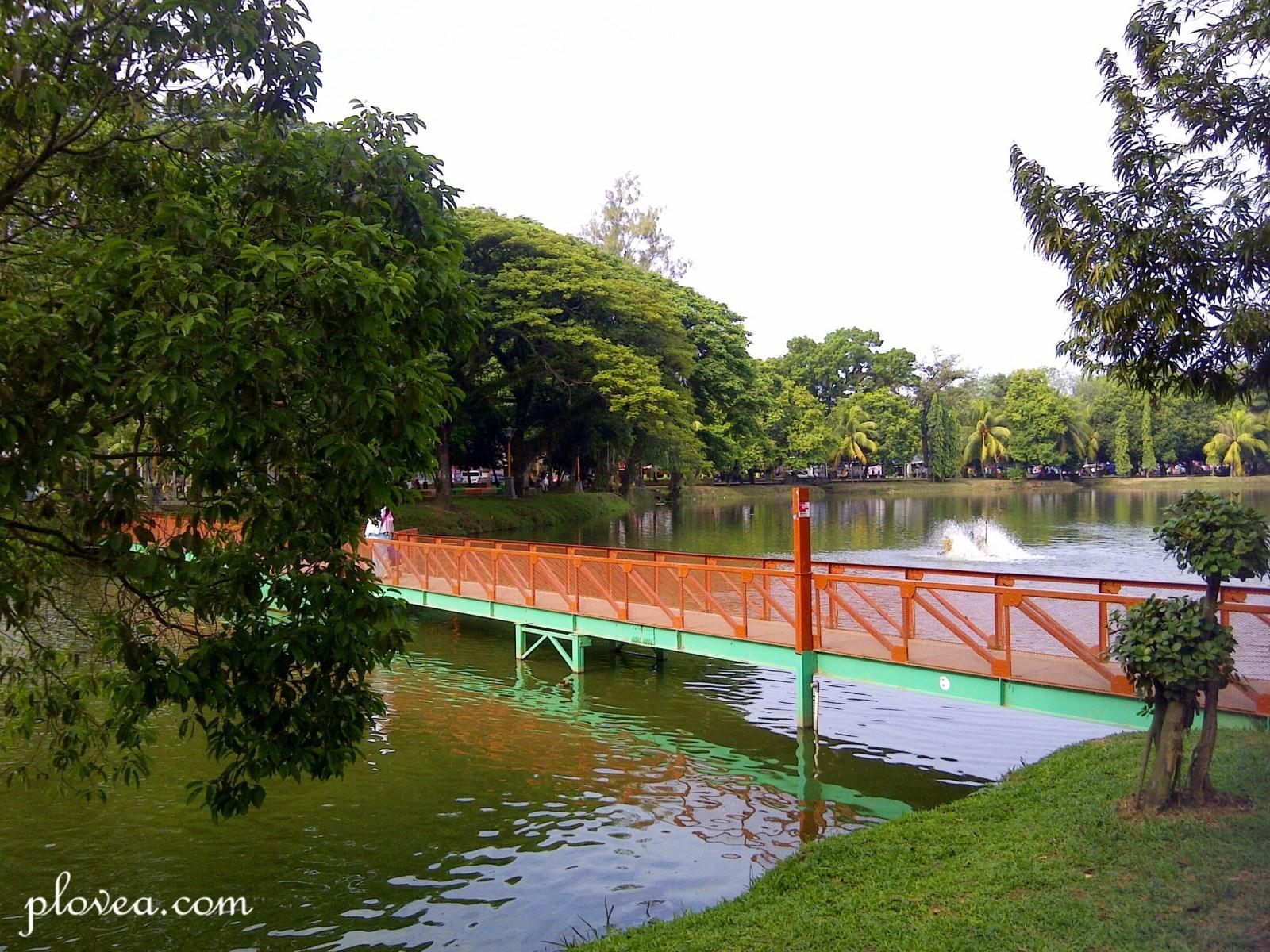 Ki Park Palembang Samosir Meets Krones Jembatan Merah Tengah Kambang
