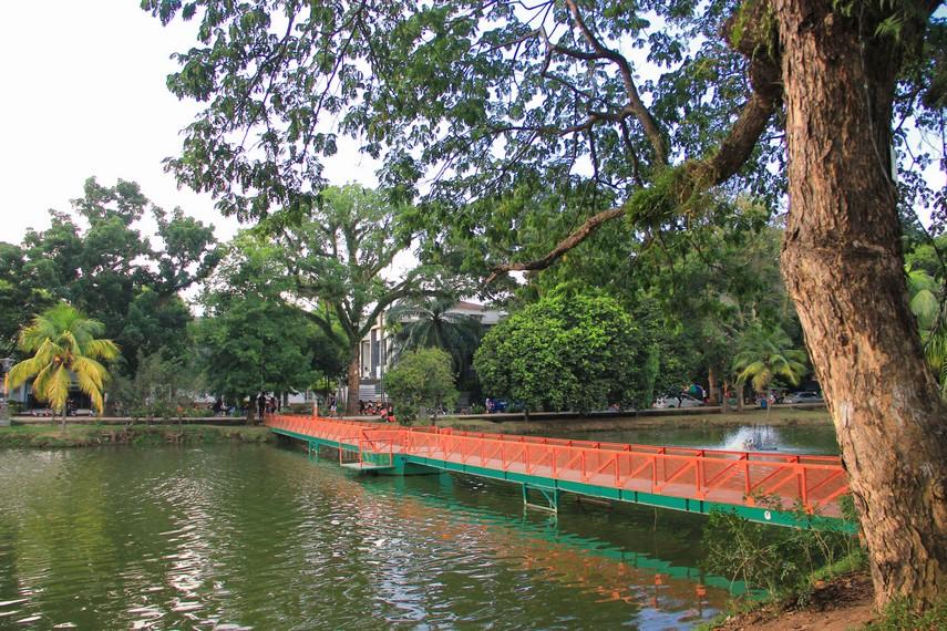 Taman Kambang Iwak Kota Kebanggaan Masyarakat Palembang Sejak Zaman Kolonialisme