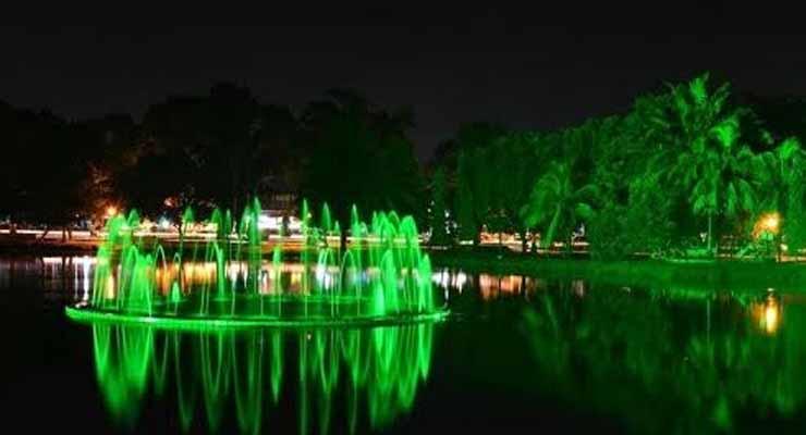 Taman Wisata Kambang Iwak Keluarga Kembang Family Park Kota Palembang