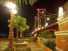 Tempat Wisata Kota Palembang Kambang Iwak Family Park Sebuah Danau