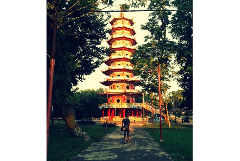 Destinasi Wisata Palembang Dinilai Kurang Promosi Republika Online Pagoda Pulau
