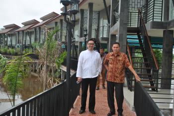 Kemaro Island Resort Kota Palembang Wisata Pulau