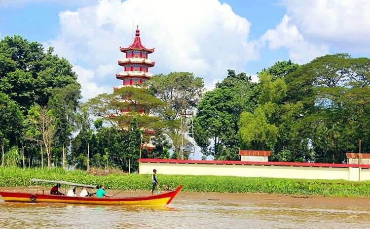 Ngintip Keindahan Pulau Kemaro Palembang Cap Meh Wisata Kota