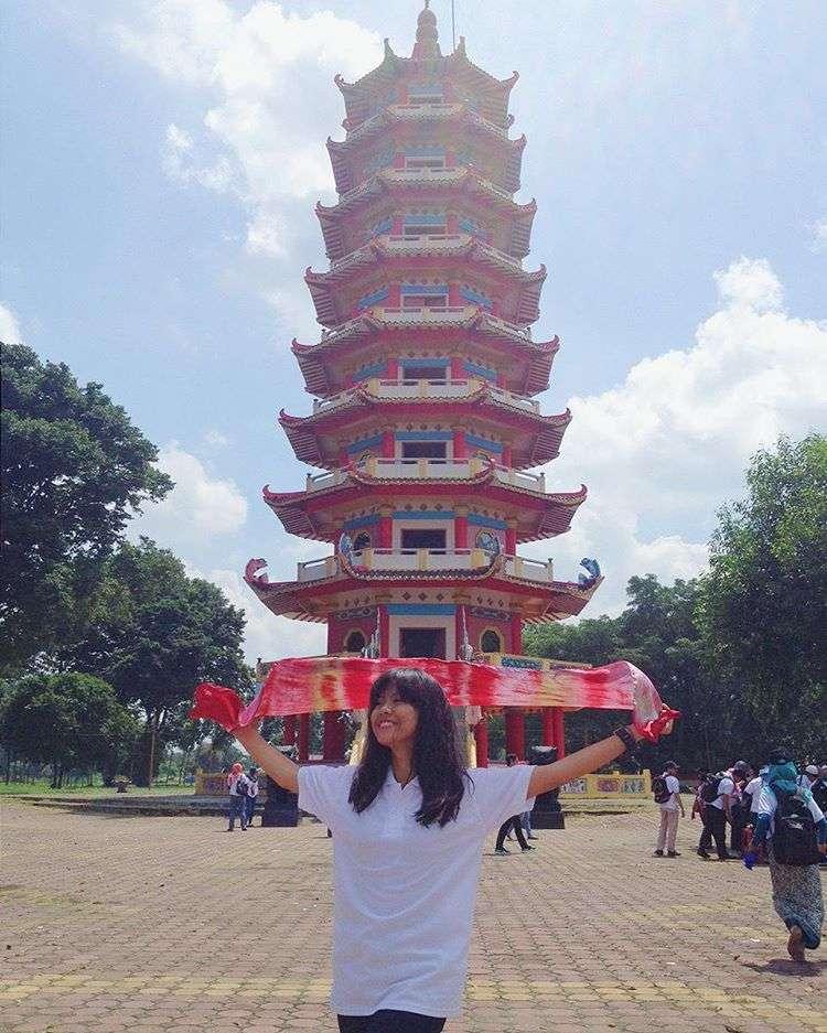 Pagoda Cantik Pulau Kemaro Palembang Kesiniaja Sumber Foto Ig Raarinta