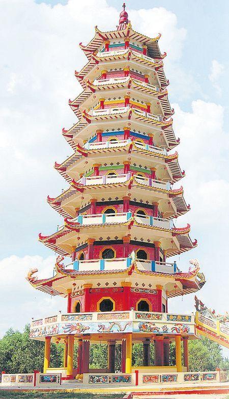 Pagoda Pulau Kemaro Palembang Sumatera Selatan China Leaves History Wisata