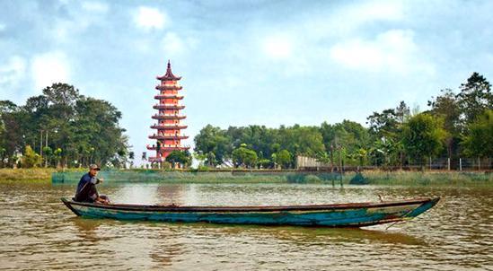 Pulau Kemaro Palembang Indonesia Dolan Wisata Kota