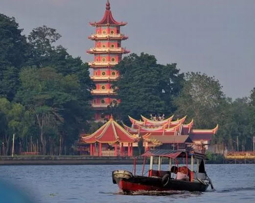 Pulau Kemaro Palembang Wisata Kota