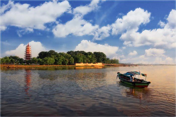 Pulau Kemaro Tempat Wisata Palembang Rumah Idolaku Daya Tarik Kota