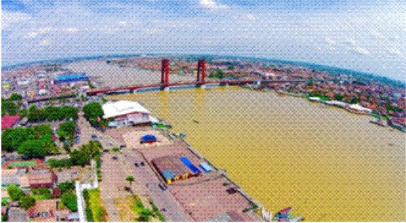 Revitalisasi Kawasan Pulau Kemaro Gambar 1 Kondisi Sungai Musi Tampak