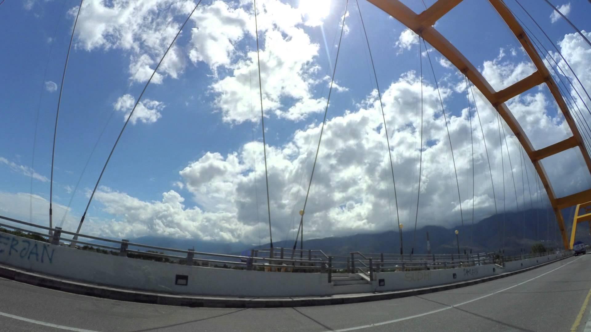 Hyperlapse Anjungan Nusantara Jembatan Kuning Palu Youtube Kota