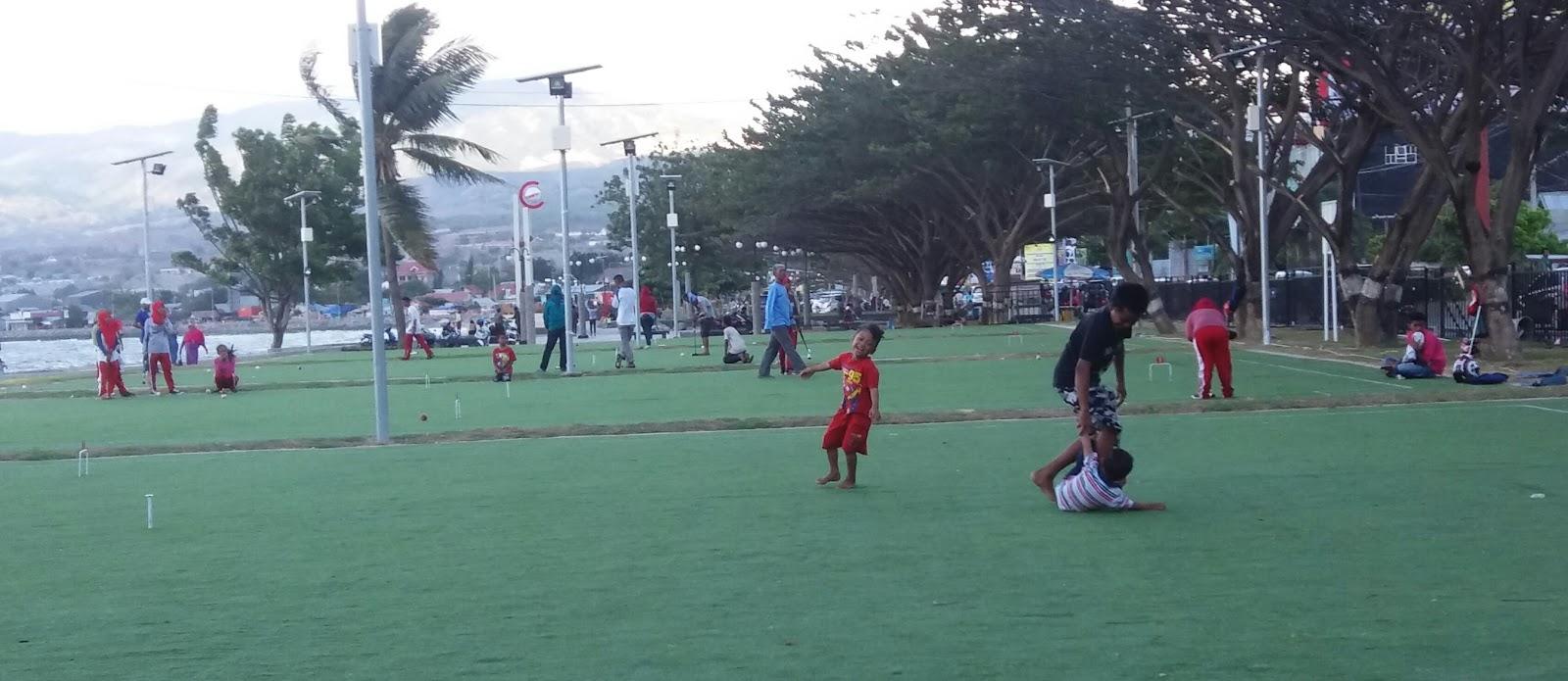 Lapangan Gateball Anjungan Nusantara Merampas Hak Publik Kota Palu
