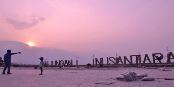 Nama Anjungan Nusantara Tidak Mendasar Aji Palu Kota