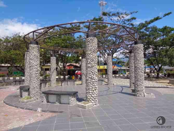 Taman Anjungan Pantai Talise Greatnessindonesia Nusantara Kota Palu