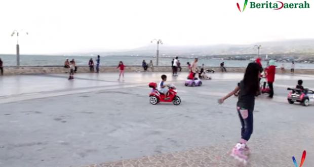 Wisata Anjungan Pantai Talise Kota Palu Berita Daerah Nusantara