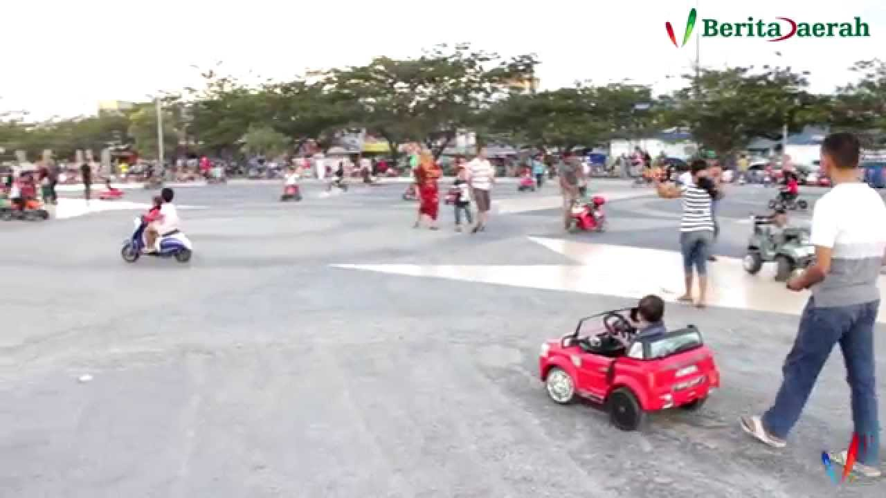 Wisata Anjungan Pantai Talise Palu Sulawesi Tengah Youtube Nusantara Kota