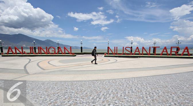 Wisata Sulawesi Tengah Sulteng Anjungan Nusantara Tempat Keren Menikmati Sore