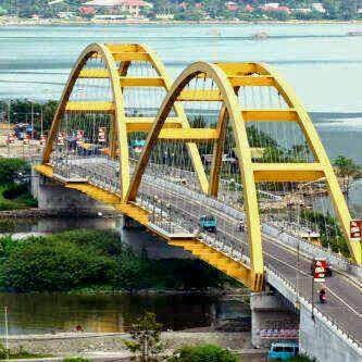Antarworld Travel Tempat Wisata Kota Palu Wajib Kunjungi Jembatan Iv