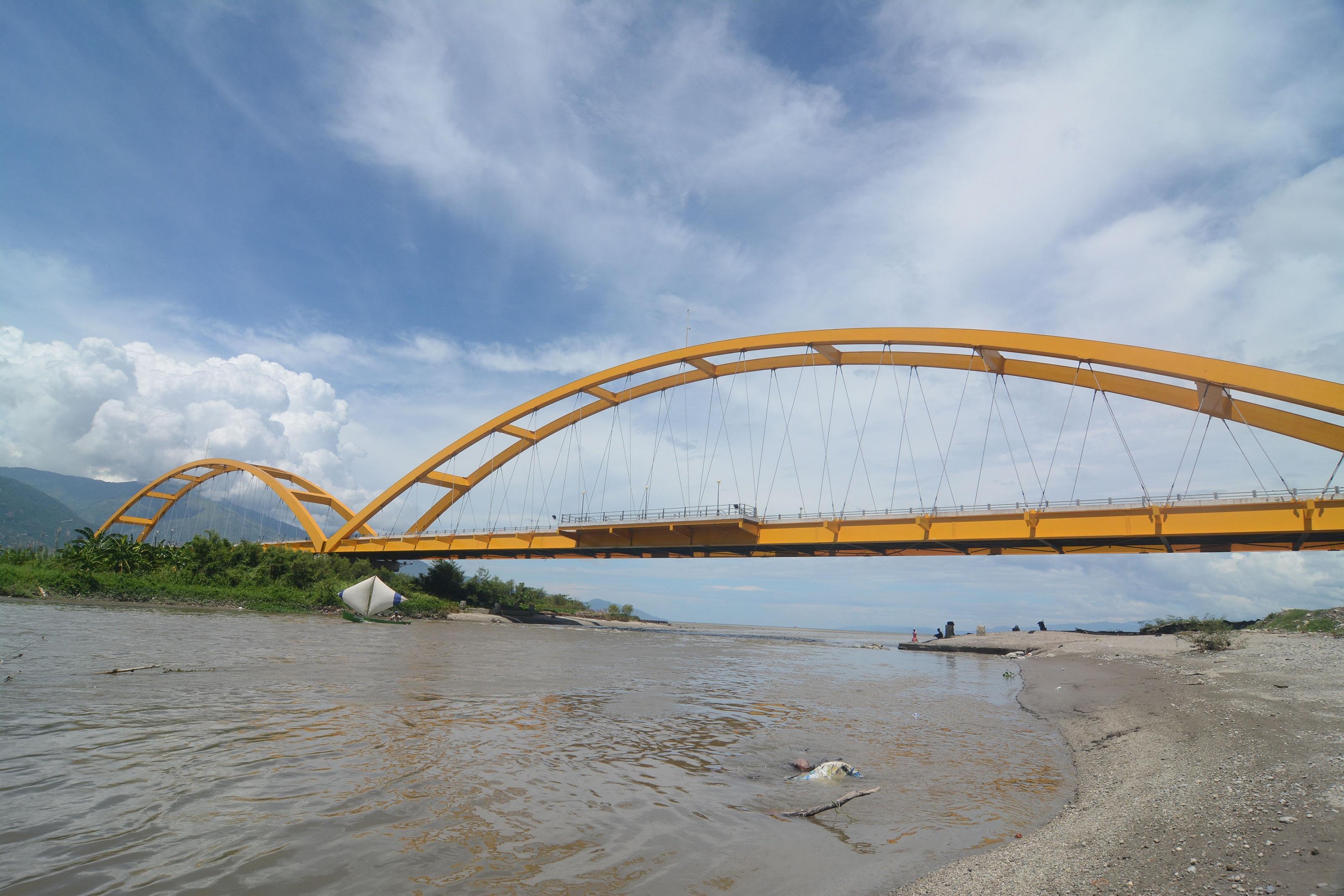 Ikon Kota Palu Terancam Hancur Berita Daerah Jembatan Iv